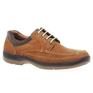 Herren Schuh Vintage Cognac